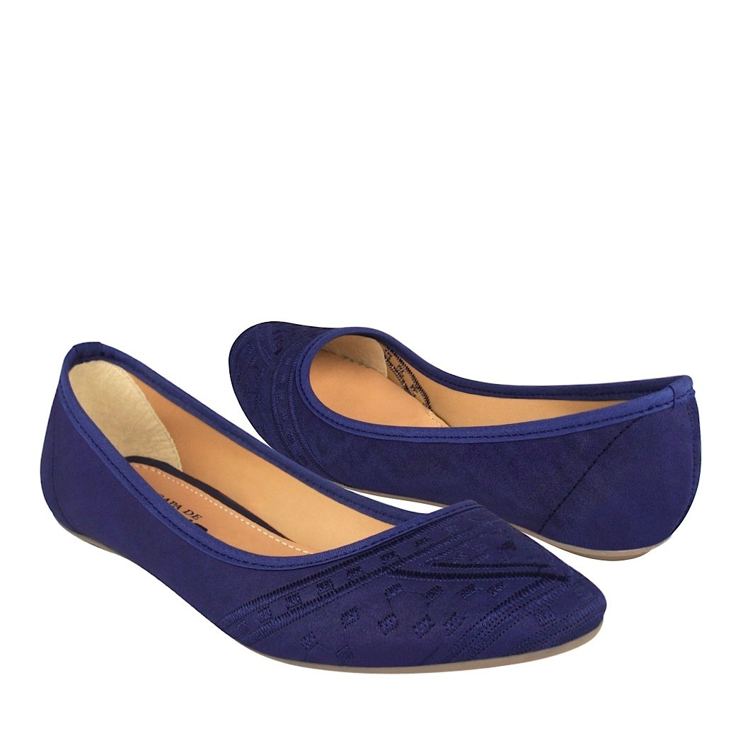 Zapatos azules casual para mujer 3EaNx