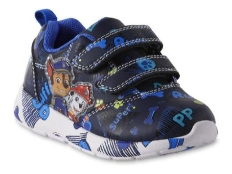 zapatos cars, spiderman, batma, paw patrol luces importados