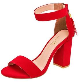 comprar real fotos nuevas amplia selección Zapatos Casual Tacon Pietroa Niñas 9cm Sint Rojo 66478 Dtt