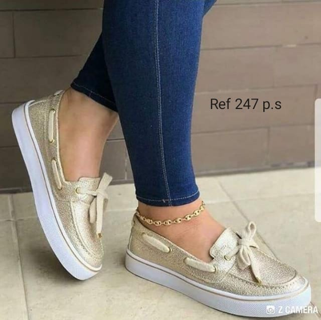 97989825 Zapatos Casuales Comodos Para Dama Moda Colombiana - Bs. 246.849,54 ...