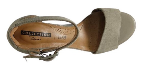 zapatos casuales dama clarks deva mae sage suede
