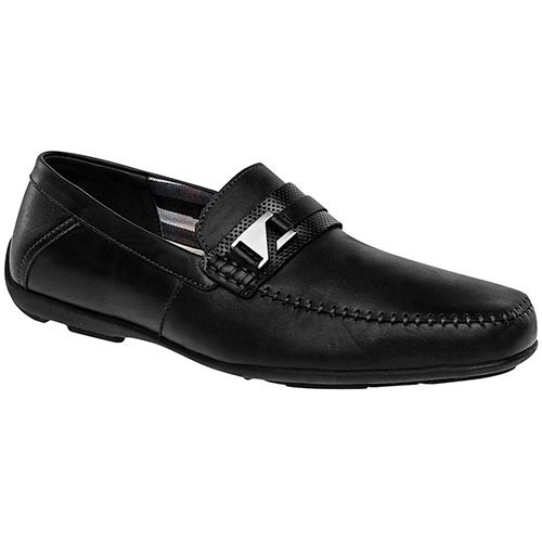 zapatos casuales flexi 68609 negro piel pv