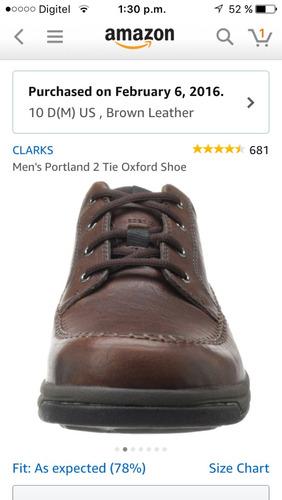 zapatos casuales marca clarks 100% originales talla 43 nuevo