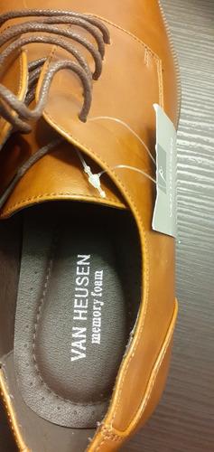 zapatos casuales nuevos marca van heusen memory foam