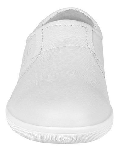 zapatos casuales para dama flexi 34402 blanco