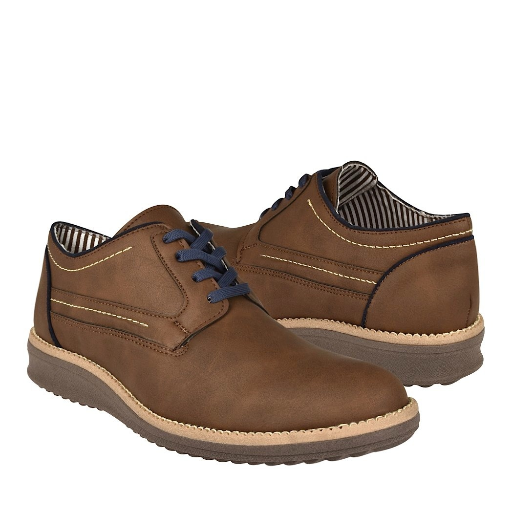 zapatos casuales stylo 209 suede cafe 399 00 en mercado libre