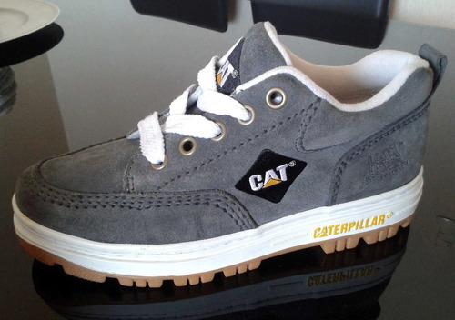 zapatos cat zapatilla caterpilla cuero original todo terreno