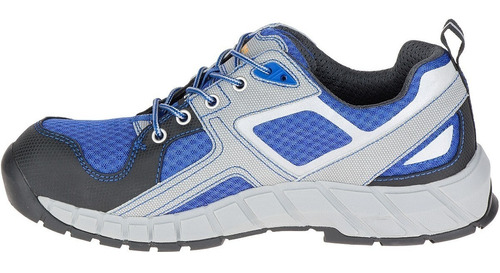 zapatos caterpillar punta acero gain p90825 azul