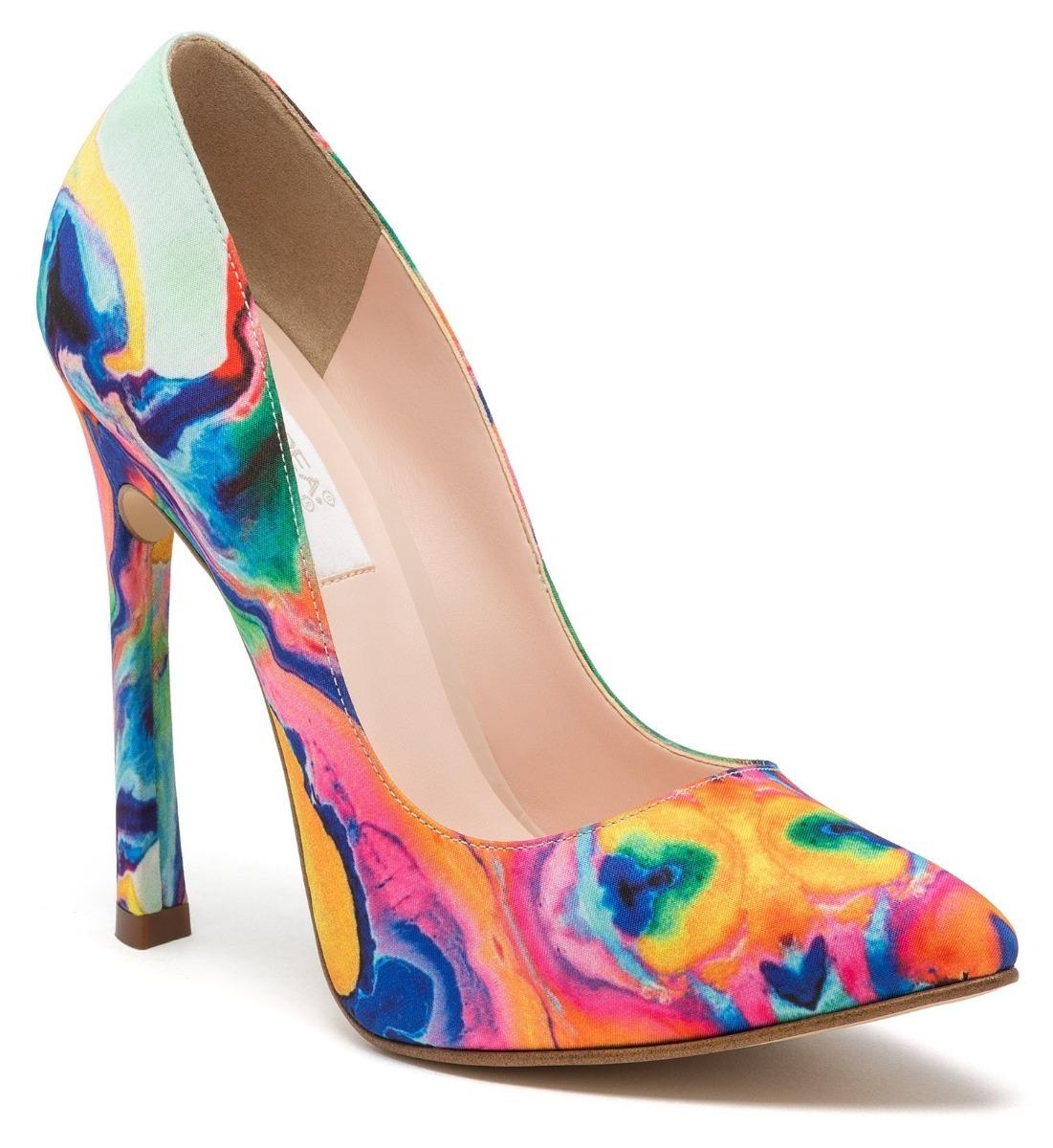 4591fd1efb8 zapatos cerrados zapatillas andrea de colores tacón alto. Cargando zoom.