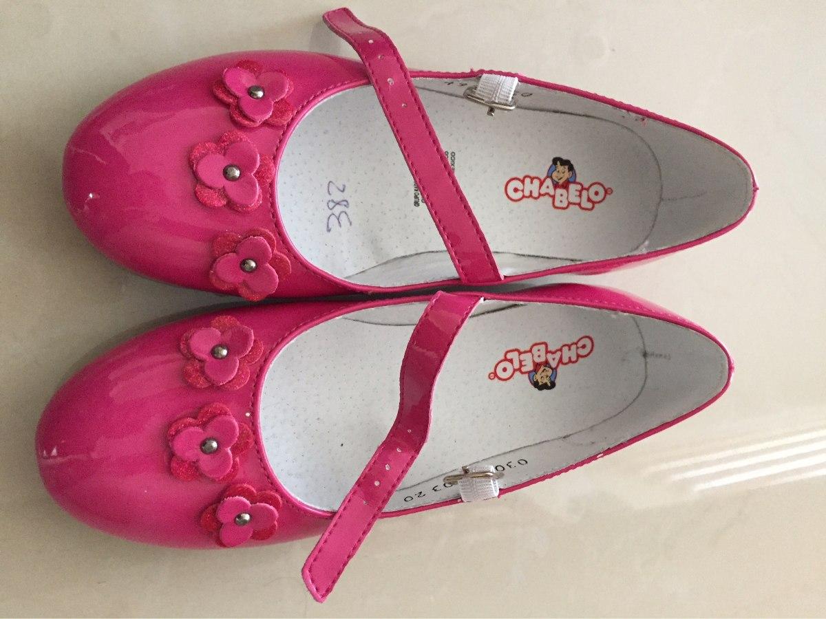 8be21152 Zapatos Chabelo Niña Como Nuevos Numero 20 - $ 300.00 en Mercado Libre