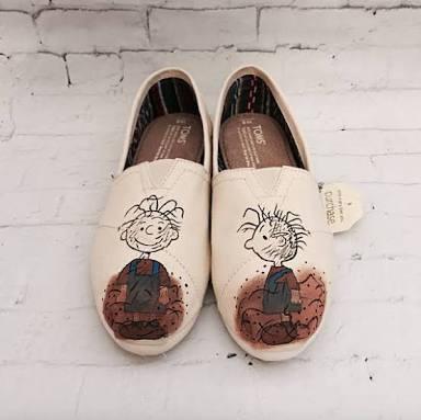 zapatos charlie brown dirt diseño hecho a mano marca collec