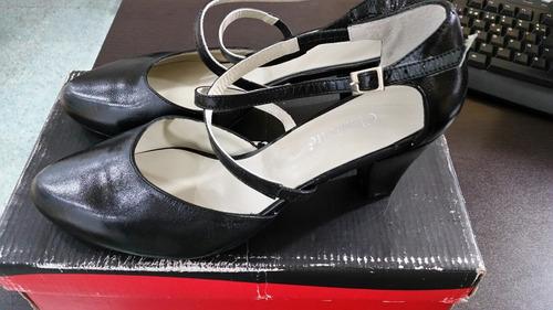 zapatos charlotte dama negros #24