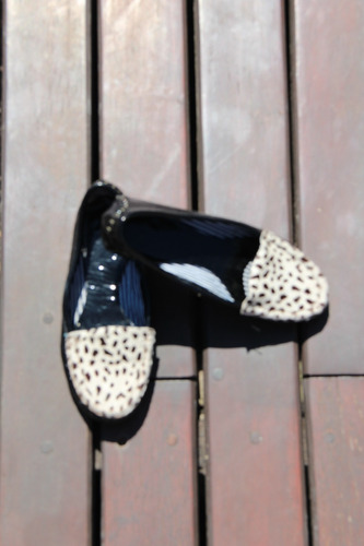 zapatos chatitas de cuero.talle 35. hermosas