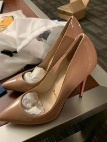 Zapatos Christian Louboutin Color Nude Originales!!