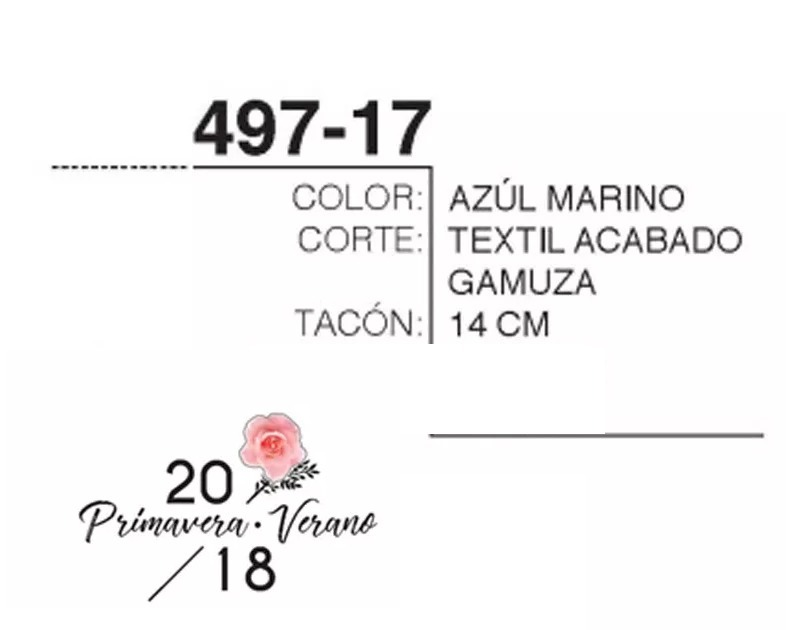b3cf17f560b Zapatos Cklass Azul Marino 497-17 Primavera Verano 2018 -   270.00 ...