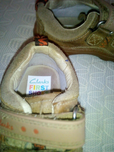zapatos clarks first shoes