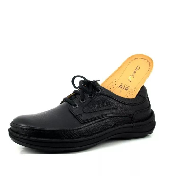 Negros Talla Clarks Zapatos Nuevos 12 Air Modelo Originales vn8wqXwxa