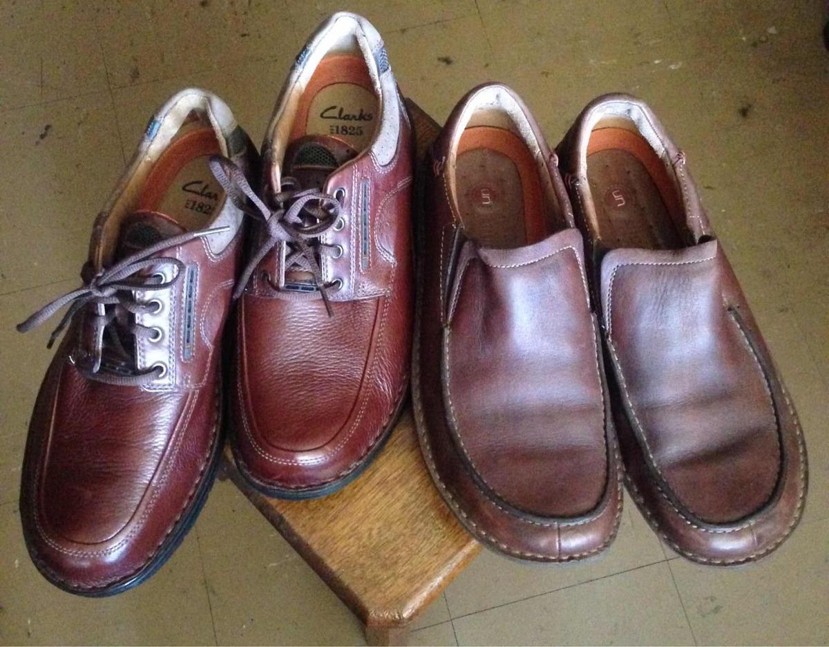 Zapatos Clarks Structured Originales Talla 9m $100