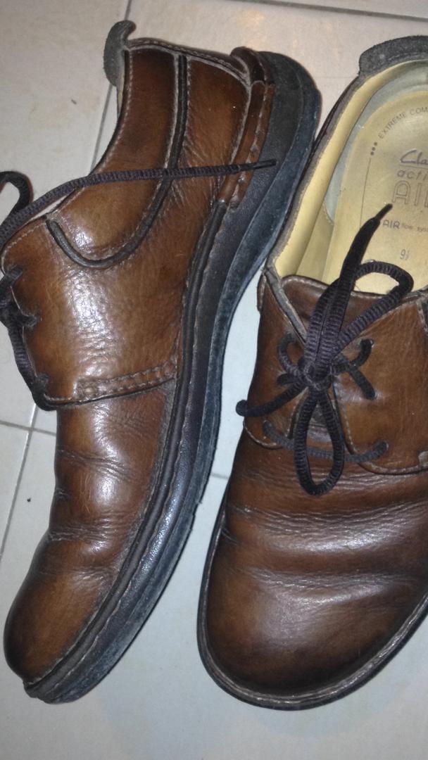 Zapatos Clarks. Usados. Talla 9 12. Originales.