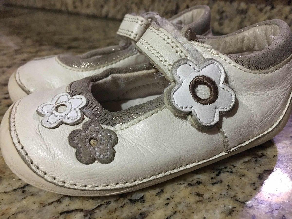 Zapatos Clars Niñas Talla 3 Espec Para Aprender A Caminar Bs. 120,00