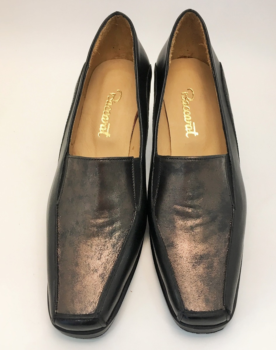Zapatos Clásicos De Vestir Cuero 2018 Mujer Art 776
