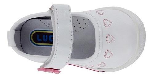 zapatos clasicos lucho 181 12-14 simipiel blanco
