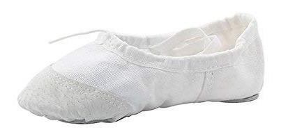 zapatos clásicos para bailar de ballet con lona de yoga...