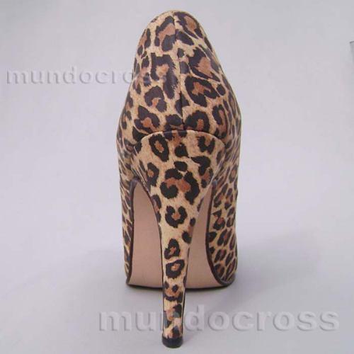 zapatos clásicos taco alto aguja leopardo 41, 42, 43, 44, 45