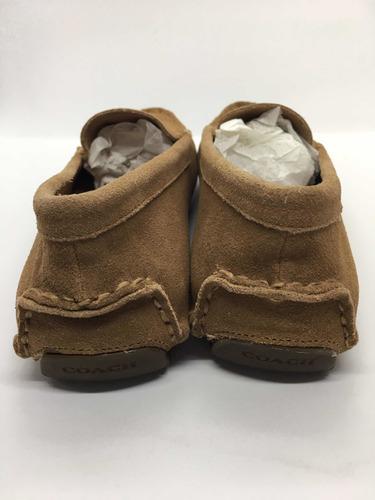 zapatos coach beige dama medida 23 nuevos originales c/caja