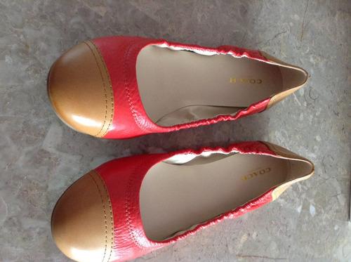 zapatos coach flats