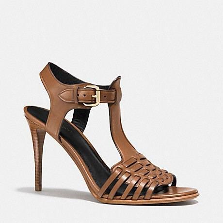 zapatos coach talla 6 100% piel de ternero