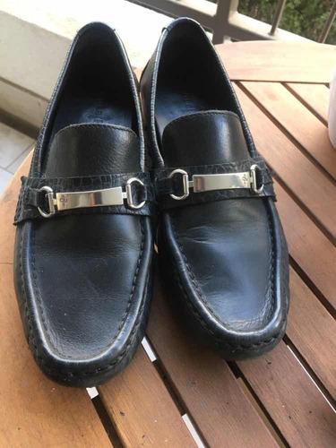 zapatos cole haan cuero negro