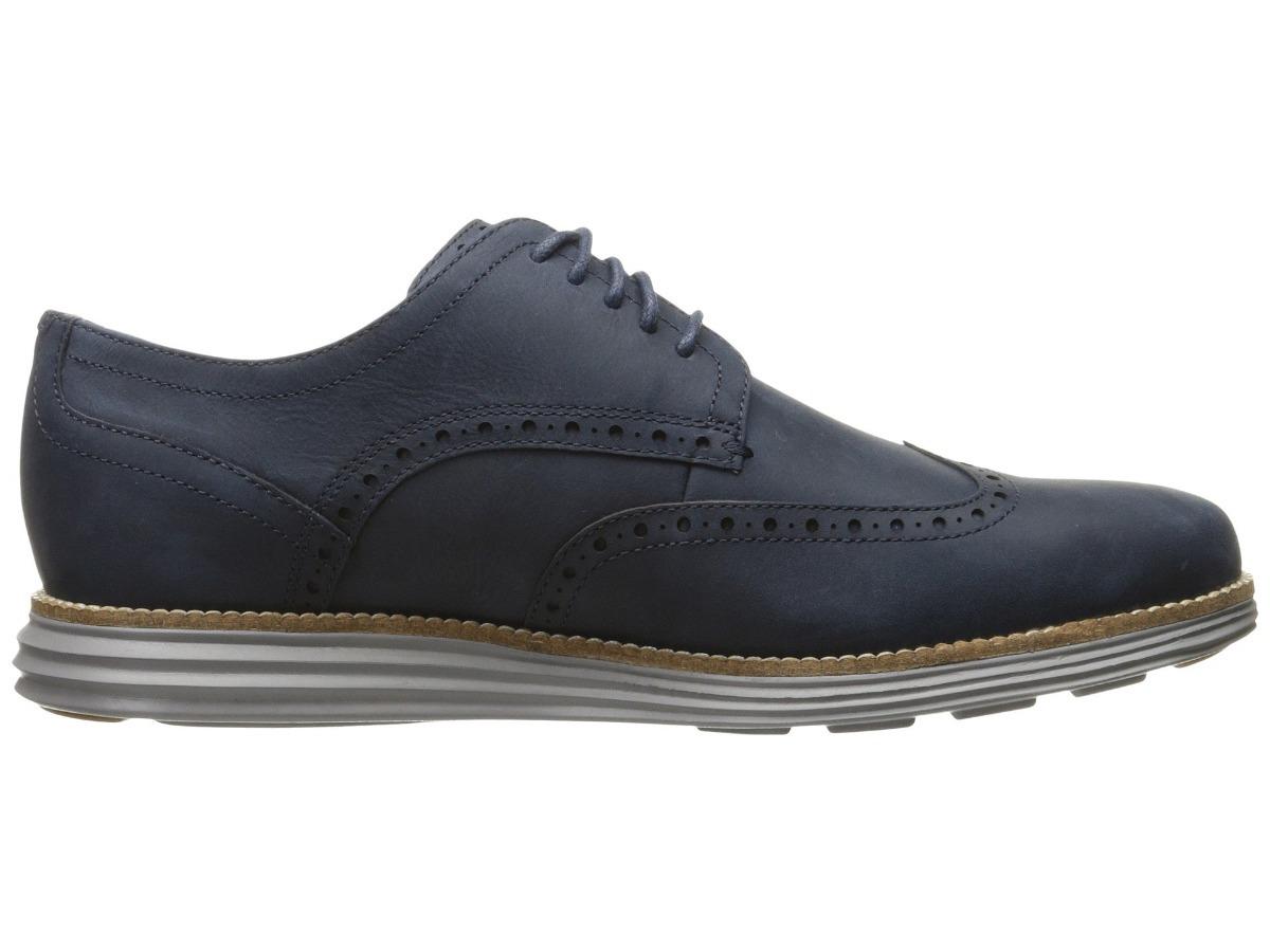 48cc51a1 Zapatos Cole Haan Original Grand Shortwing Azul 8.5 - S/ 379,00 en ...