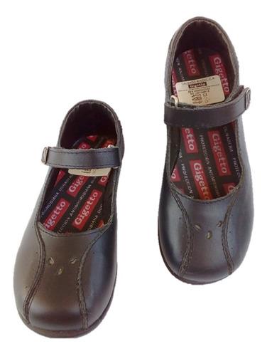 zapatos colegiales escolares niña gigetto 5502