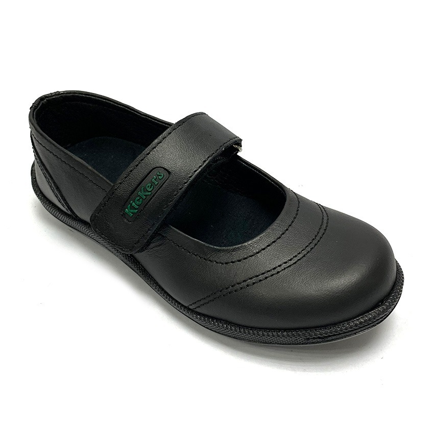 e3fb3b470e8 Zapatos Colegiales Kickers Niña Negro Ki 4020 Corpez - Bs. 183.261 ...