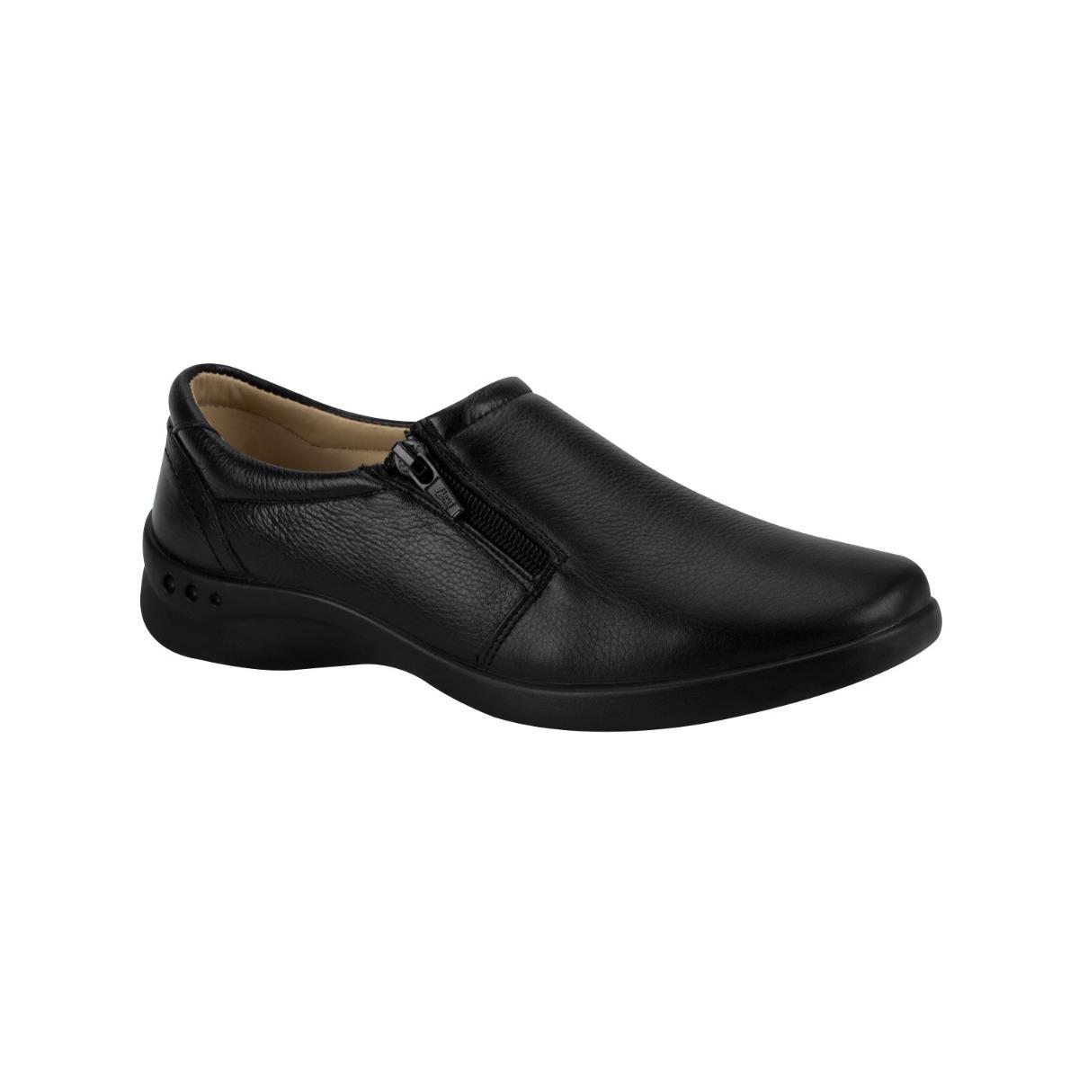 435047e1 zapatos comodos mujer confort piso flexi negro piel co177 a. Cargando zoom.