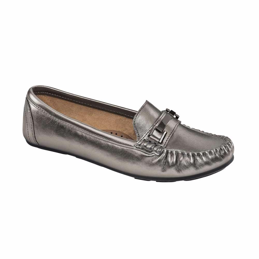 fbe3ef7752ef1 Marca Comodos Zapatos Plata Co15 Piel Shosh Dama Para 00 A 495 wBHHqTg