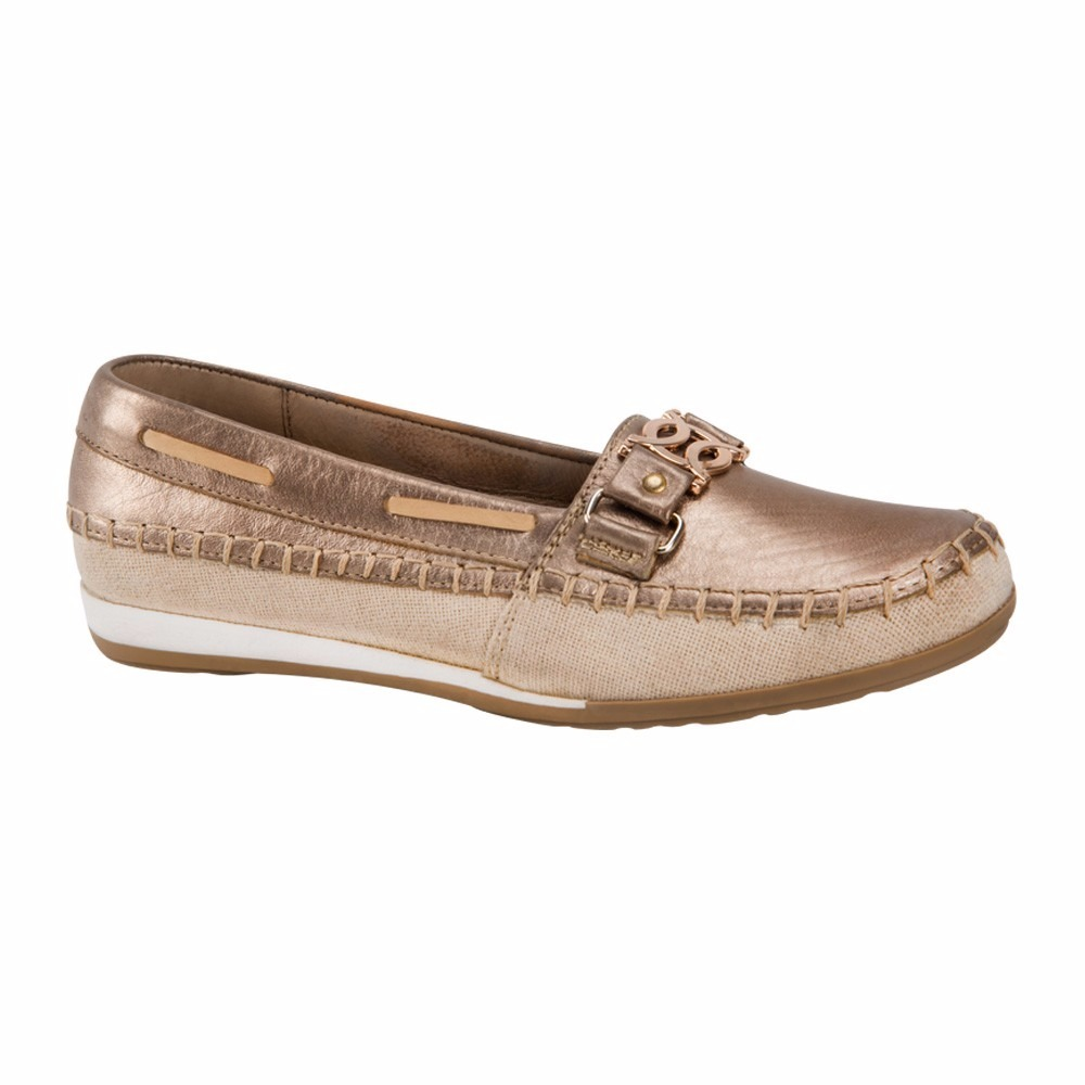 494a5af5658d9 zapatos comodos para mujer brillo shosh color oro piel co9 a. Cargando zoom.