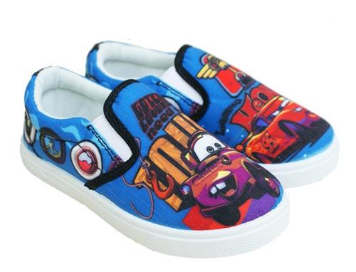 zapatos con elástico cars