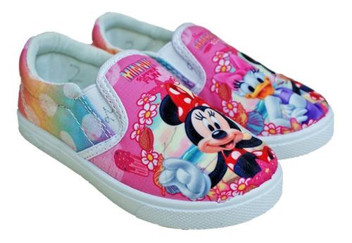 zapatos con elástico minnie