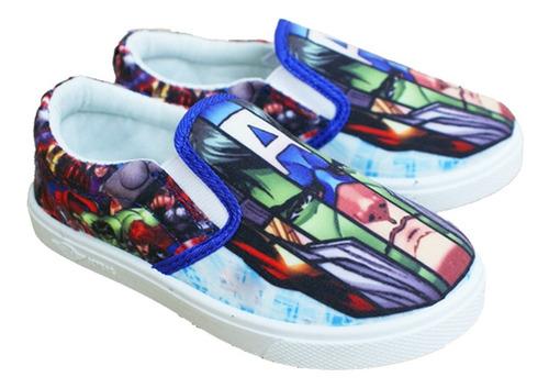 zapatos con elástico the avengers / los vengadores