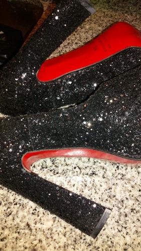 zapatos con glitter...hermosos! súper delicados