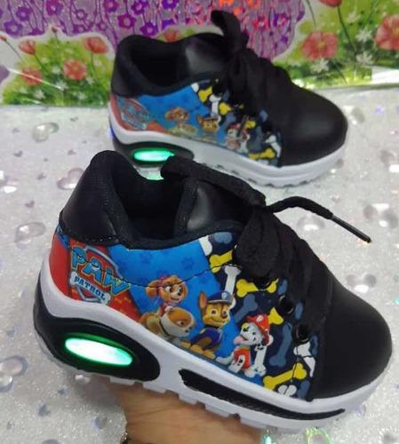 zapatos con luces de spiderman toy story botas jordan niños