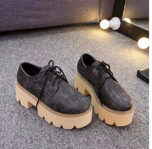 zapatos con plataforma tractor (por encargue)