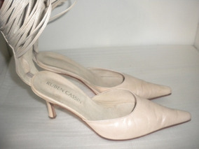 mayor selección Para estrenar más fotos Zapatos Con Taco Color Champagne 39 Impecables!