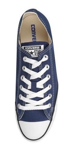 zapatos converse all star azul marino (35 a 42)