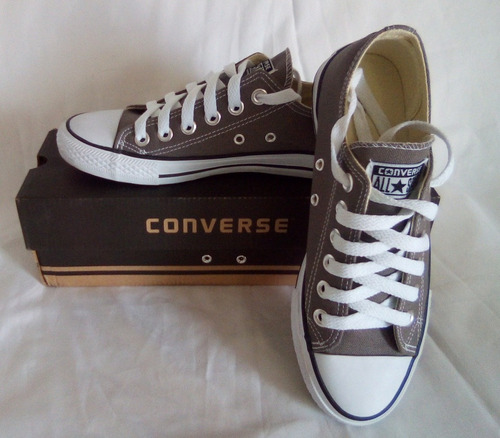 zapatos converse all star chuck taylor gris