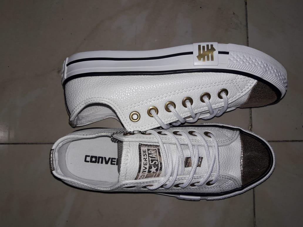 Zapatos Converse All Star De Cuero Para Mujer