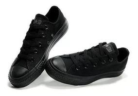 zapatos converse todo negro