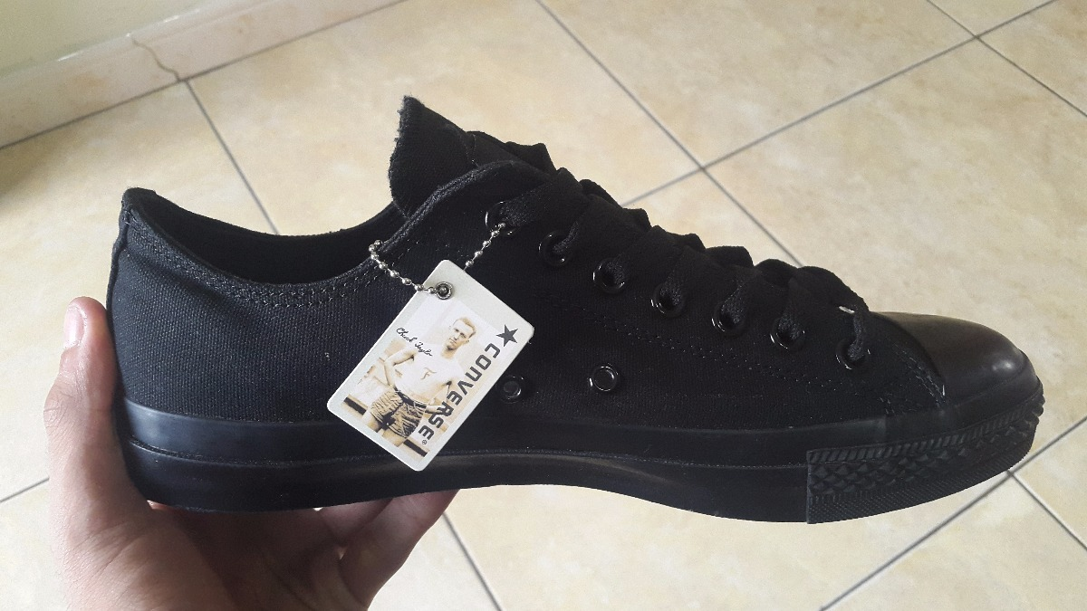 En Negros Zapatos Converse Bs All Mercado 00 Star Originales 100 q6pw8Z6